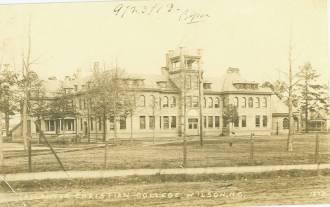 Kinsey Hall, Atlantic Christian College, Wilson, North Carolina, 1873.