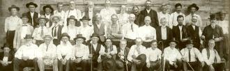 Confederate veterans reunion, 1906.