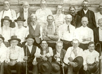 Confederate veterans reunion, 1906.